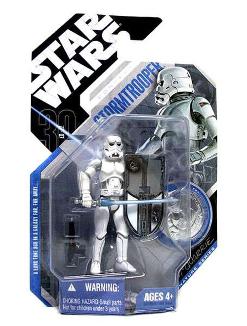 Star Wars Expanded Universe 30th Anniversary 2007 Wave 1 Stormtrooper Action Figure #9 [McQuarrie Concept]