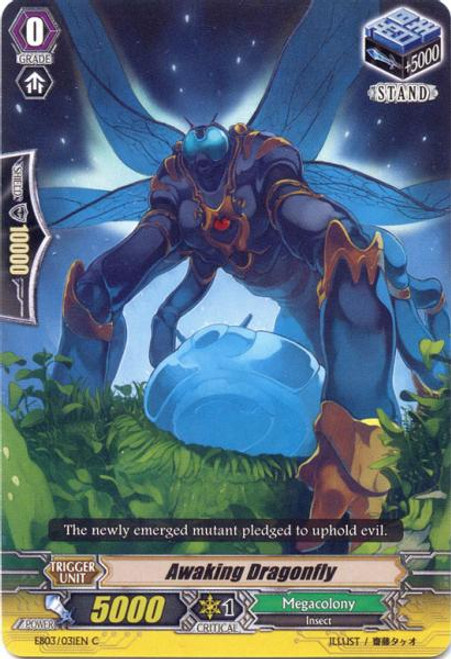 Cardfight Vanguard Cavalry of Black Steel Common Awaking Dragonfly EB03-031