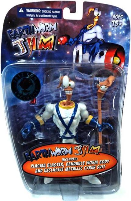 Earthwork Jim Earthworm Jim Exclusive Action Figure [Metallic]