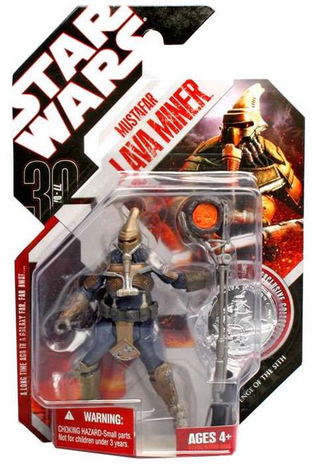 Star Wars Revenge of the Sith 30th Anniversary 2007 Wave 1 Mustafar Lava Miner Action Figure #3