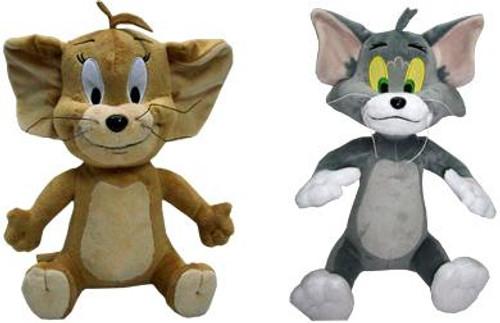 Hanna-Barbera Tom & Jerry 12-Inch Plush Figures