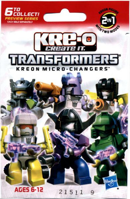 Kreon Micro-Changers Transformers Kre-O Minifigure Mystery Pack