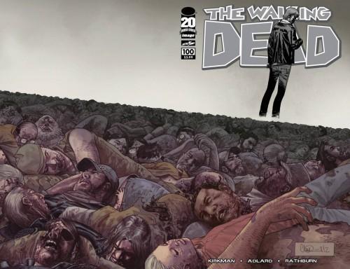 Image Comics The Walking Dead Comic Book #100 [Charlie Adlard Wraparound Cover]