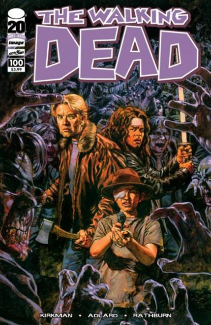Image Comics The Walking Dead Comic Book #100 [Sean Phillips Cover]