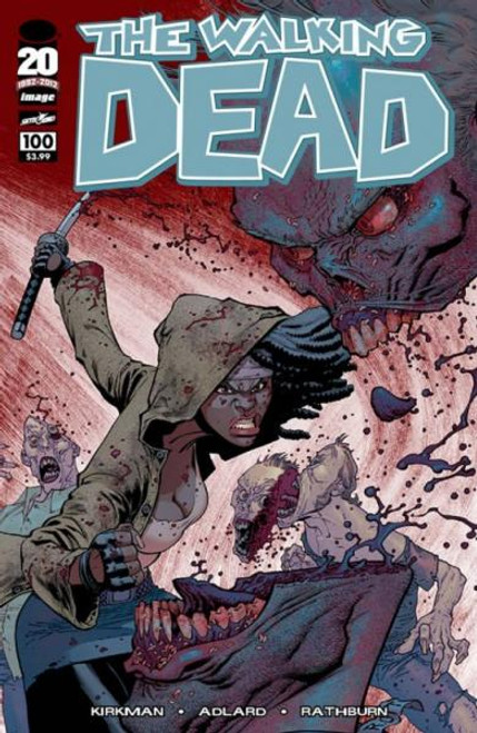 Image Comics The Walking Dead Comic Book #100 [Ryan Ottley Cover]