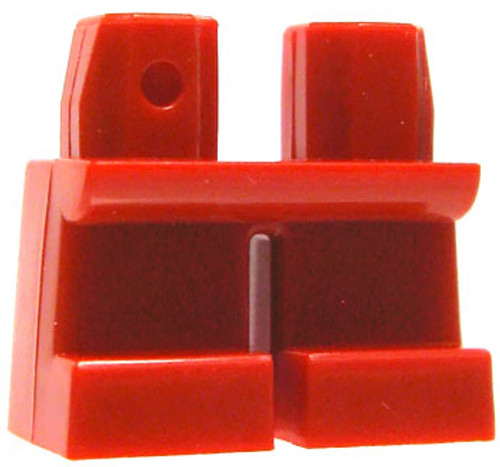 LEGO Minifigure Parts Short Red Loose Legs [Loose]