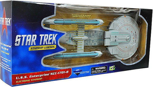 Star Trek Generations Starship Legends U.S.S. Enterprise NCC-1701-B Electronic Starship