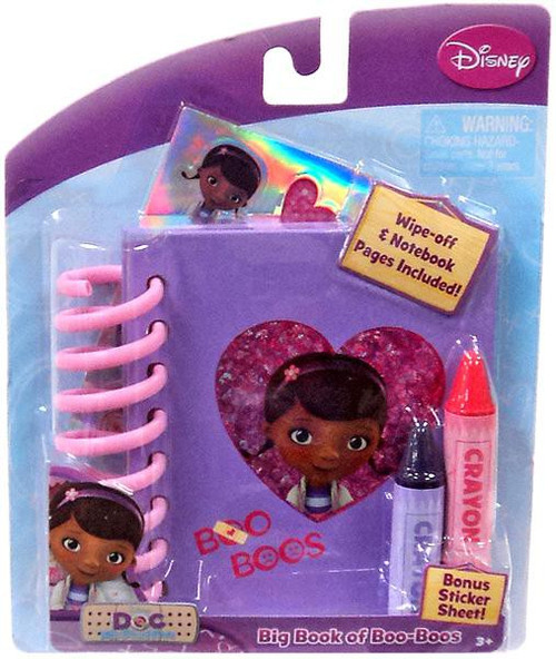 Disney Doc McStuffins Big Book of Boo-Boos Activity Set