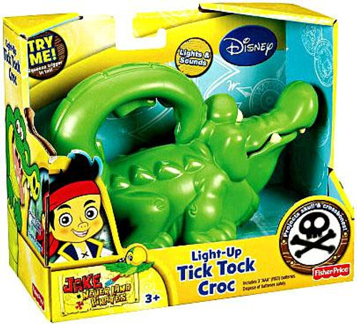 Fisher Price Disney Jake and the Never Land Pirates Light-Up Tick Tock Croc Roleplay Toy