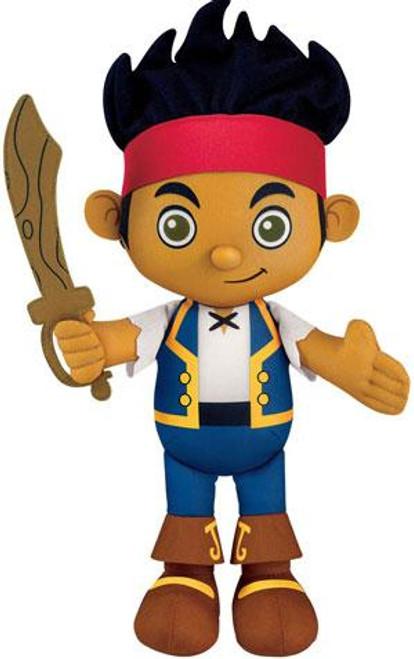 Fisher Price Disney Jake and the Never Land Pirates Jake 11-Inch Plush [Talking]