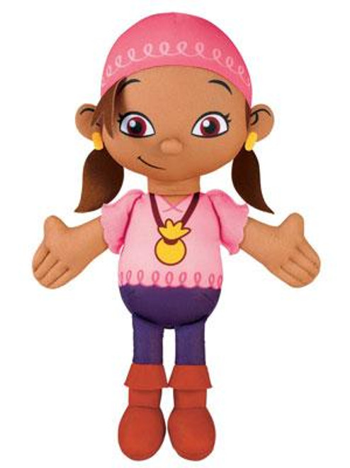 Fisher Price Disney Jake and the Never Land Pirates Izzy 11-Inch Plush [Talking]