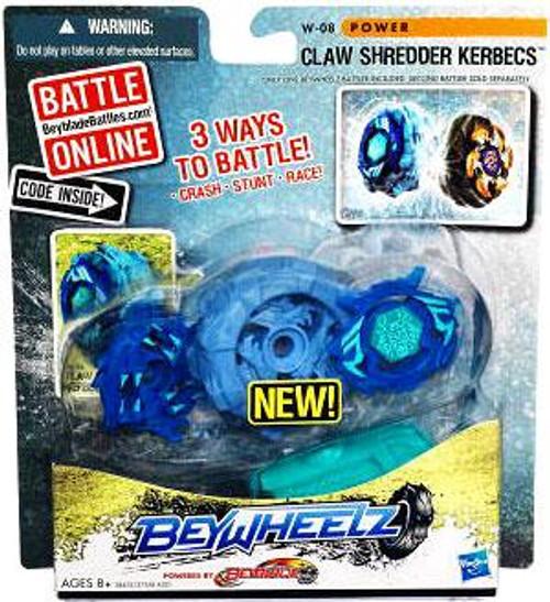 Beyblade Beywheelz Claw Shredder Kerbecs Single Pack W-08