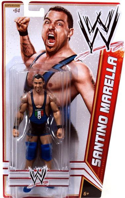 WWE Wrestling Series 23 Santino Marella Action Figure #64