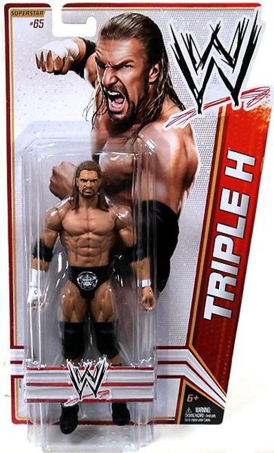 WWE Wrestling Series 23 Triple H Action Figure #65
