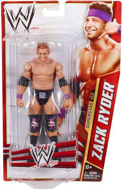 WWE Wrestling Series 24 Zack Ryder Action Figure #3