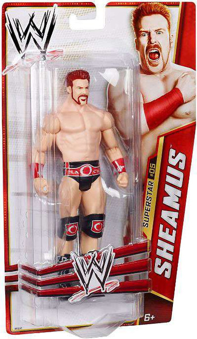 WWE Wrestling Series 24 Sheamus Action Figure #5