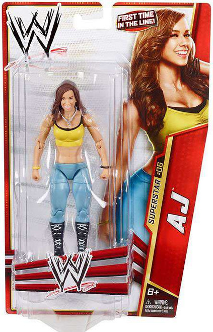 WWE Wrestling Series 24 AJ Action Figure #6