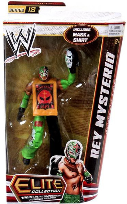 WWE Wrestling Elite Series 18 Rey Mysterio Action Figure [Mask & Shirt]