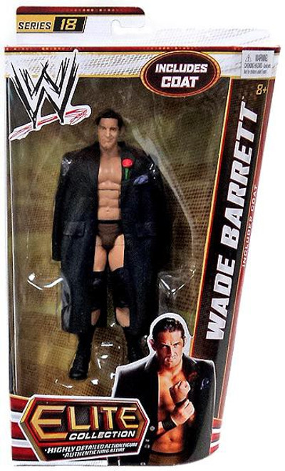 WWE Wrestling Elite Series 18 Wade Barrett Action Figure [Coat]