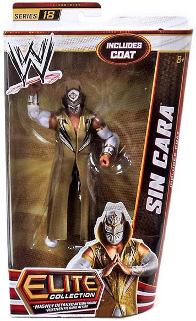 WWE Wrestling Elite Series 18 Sin Cara Action Figure [Coat]