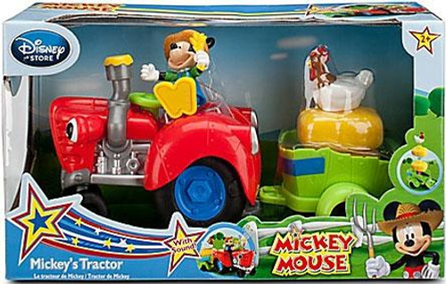 Disney Mickey Mouse Mickey's Tractor Exclusive