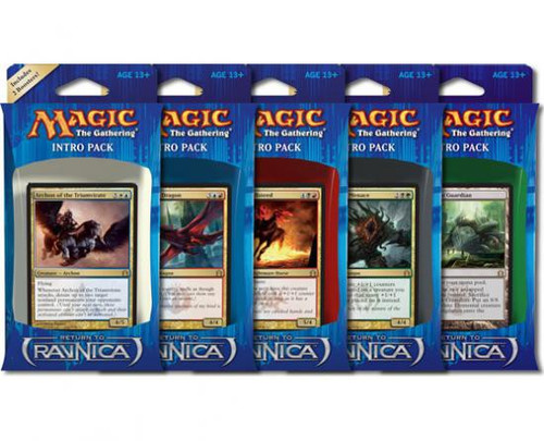 MtG Return to Ravnica Set of 5 Intro Packs [Sealed Decks]