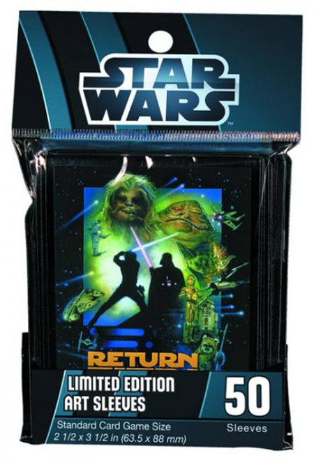 Card Supplies Star Wars Return of the Jedi Card Sleeves [50 ct]