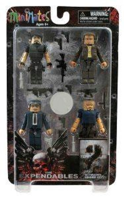 MiniMates The Expendables 2 Exclusive Minifigure 4-Pack