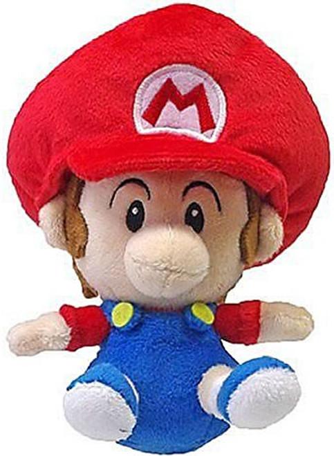 Super Mario Bros Mario 5-Inch Plush [Baby]