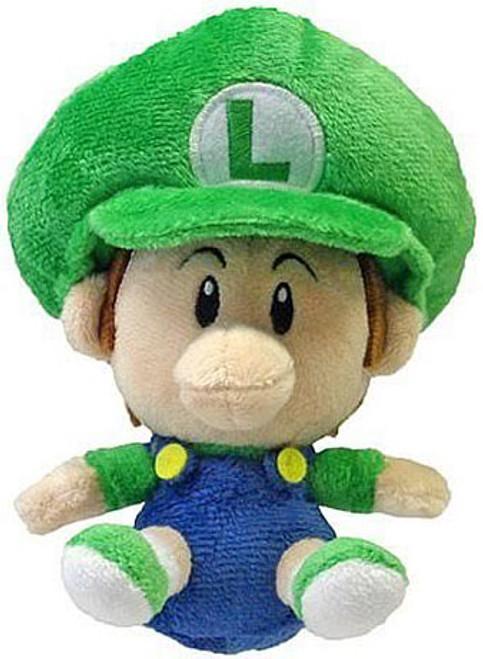 Super Mario Bros Luigi 5-Inch Plush [Baby]