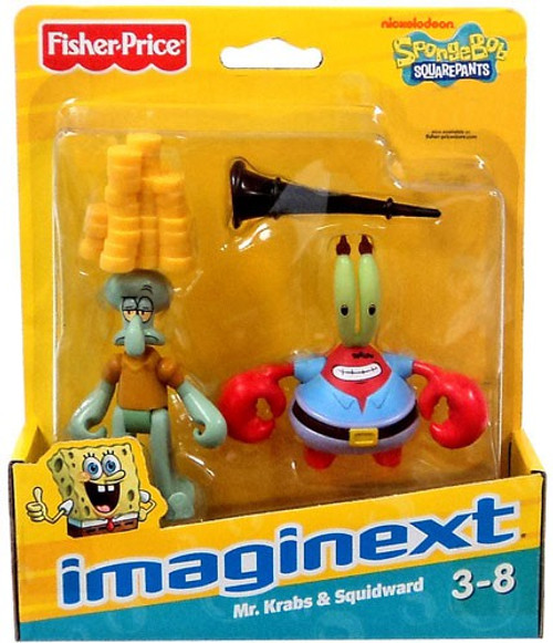 Best Spongebob Toys For Kids : Fisher price spongebob squarepants imaginext squidward mr