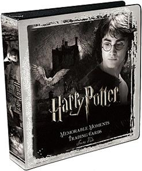 Harry Potter Memorable Moments Trading Cards Series 2 D-Ring Binder