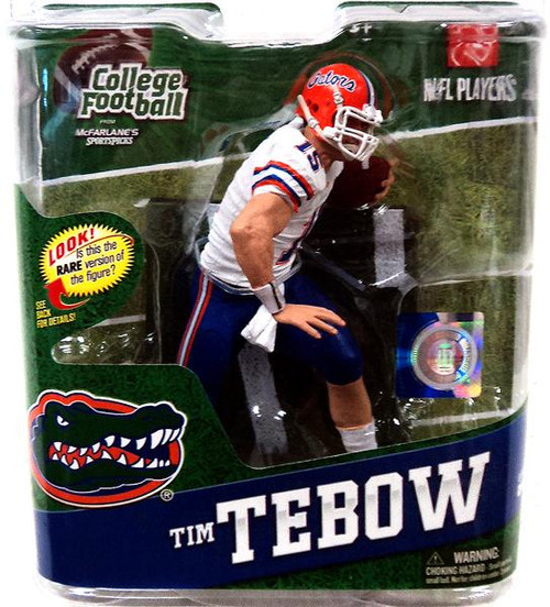 McFarlane Toys NCAA Florida Gators College Football Series 4 Tim Tebow Action Figure [White Jersey]
