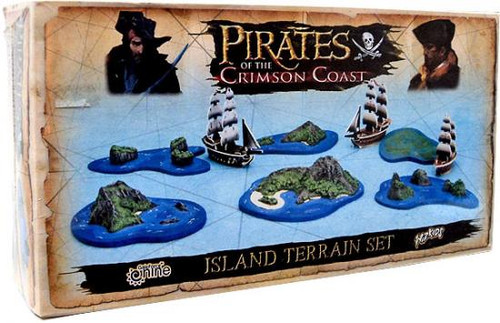 Pirates of the Crimson Coast Island Terrain Set #1: Pirates of the Spanish Main Booster Pack