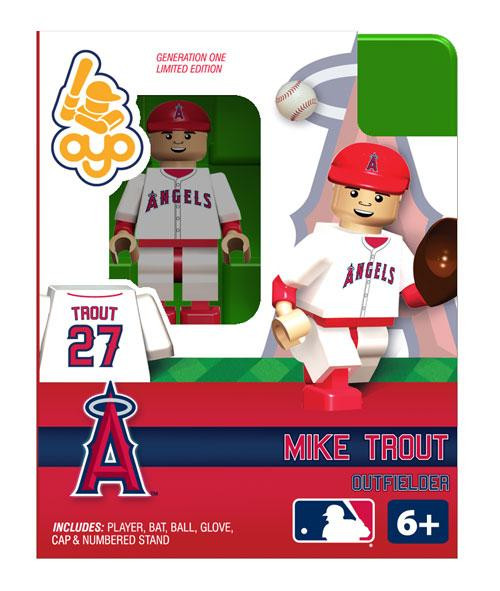 Angels of Anaheim MLB Generation One Mike Trout Minifigure