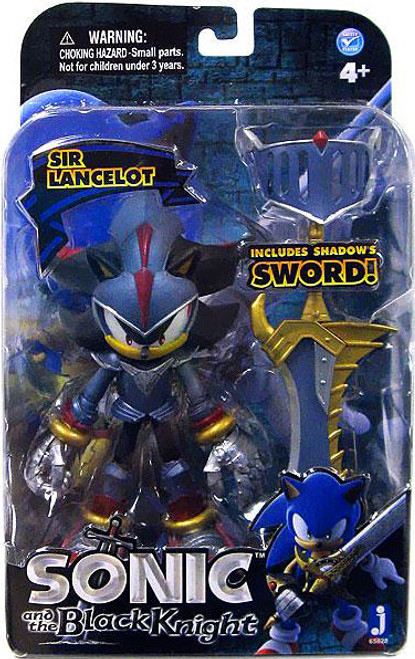 Sonic The Hedgehog Sonic and the Black Knight Shadow Action Figure [Sir Lancelot]