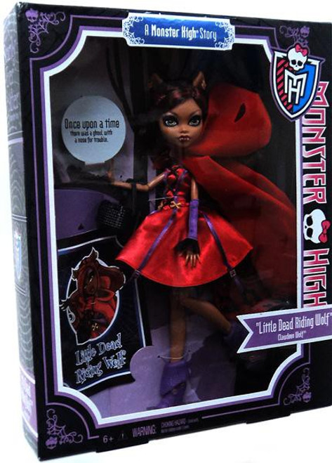 Monster High Scarily Ever After Clawdeen Wolf Exclusive 10.5-Inch Doll [Little Dead Riding Wolf]