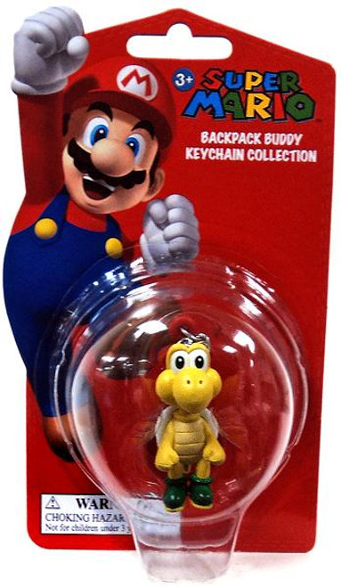 Super Mario Backpack Buddy Collection Koopa Troopa 2-Inch Keychain