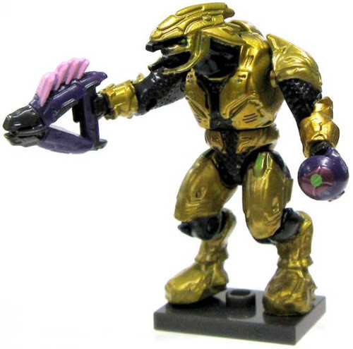 Mega Bloks Halo Loose Zealot Elite Minifigure [Gold Loose]