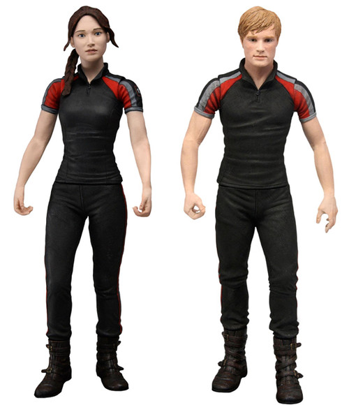 NECA The Hunger Games Series 2 Set of 2 Action FIgures