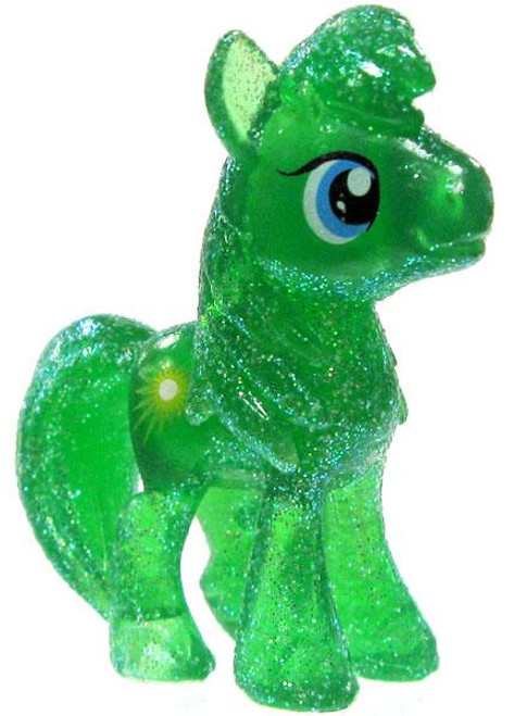 My Little Pony Friendship is Magic 2 Inch Emerald Ray Exclusive PVC Figure [Crystal Glitter]