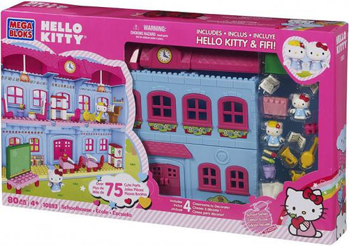 Mega Bloks Hello Kitty School Series Schoolhouse Set #10893