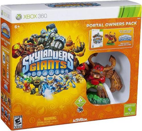 Skylanders xBox 360 Giants Portal Owners Pack