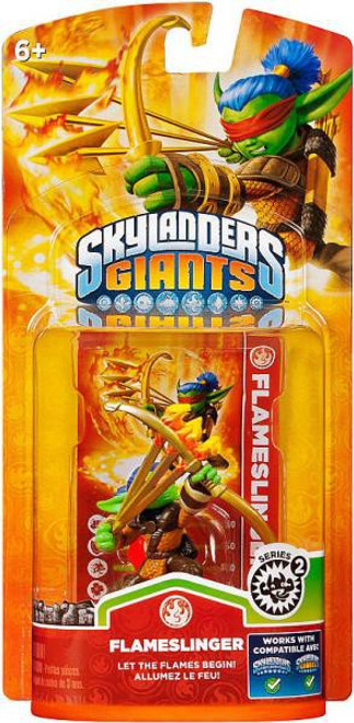 Skylanders Giants Series 2 Flameslinger Figure Pack [Giants Version]