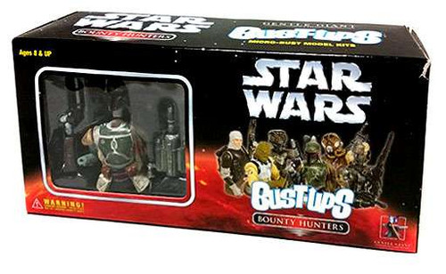 Star Wars Bust-Ups Bounty Hunters Micro Bust Set