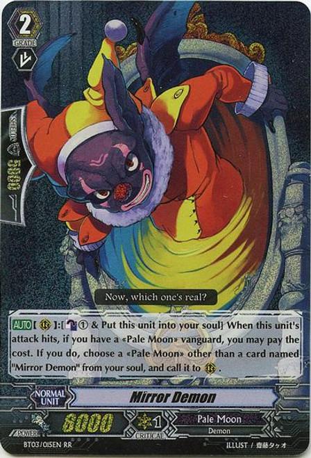 Cardfight Vanguard Demonic Lord Invasion Double Rare RR Mirror Demon BT03-015