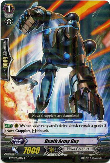 Cardfight Vanguard Demonic Lord Invasion Rare Death Army Guy BT03-042