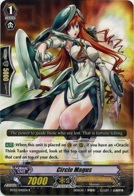 Cardfight Vanguard Demonic Lord Invasion Rare Circle Magus BT03-040