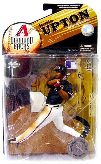 McFarlane Toys MLB Arizona Diamondbacks Sports Picks Series 23 Exclusive Justin Upton Exclusive Action Figure [Damaged Package]