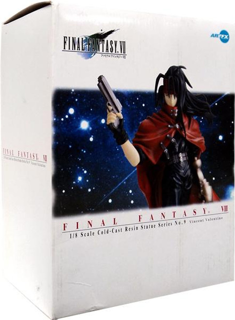 Final Fantasy VII Advent Children Series 9 Vincent Valentine Cold-Cast Resin Statue
